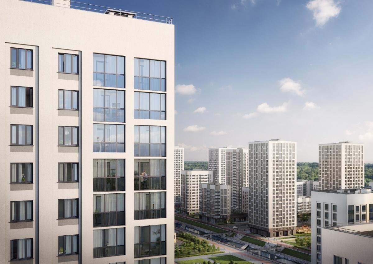 Застройка переменной этажности, развитая инфраструктура, уютные дворы делают пространство удобным для жизни