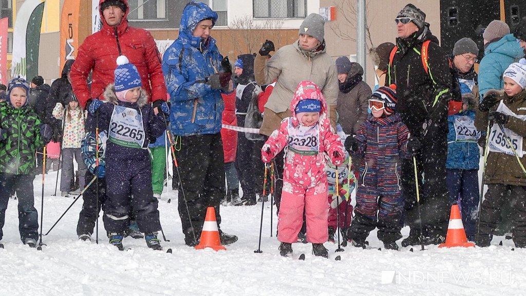 От дошкольников до ученых: как в Академическом прошла «Лыжня России»